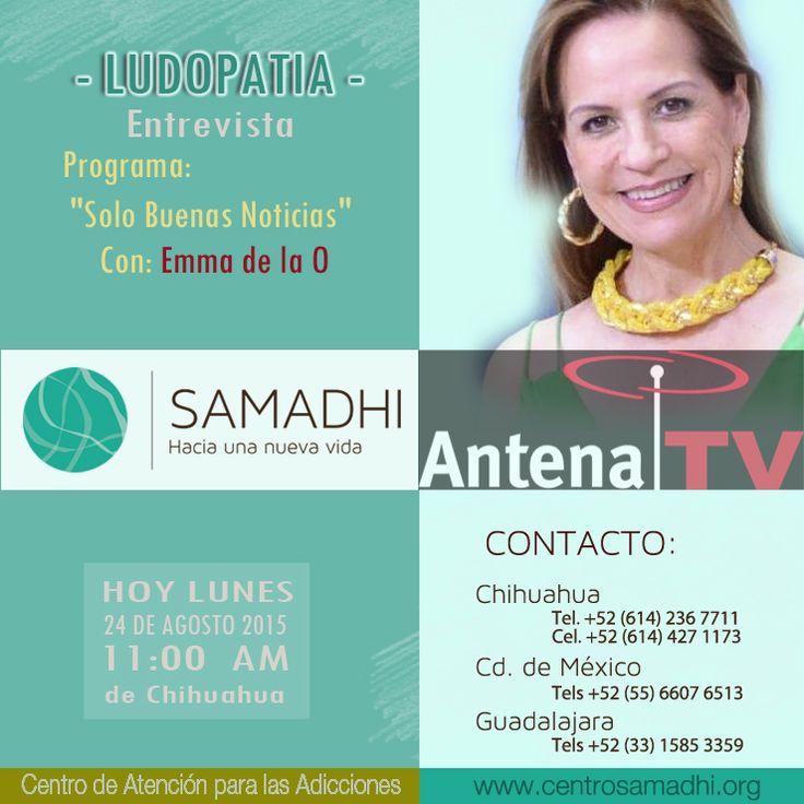 Centro Samadhi | Ludopatia TV - Programas de television en ludopatia, juego compulsivo, para identificar ludopatas. Mexico