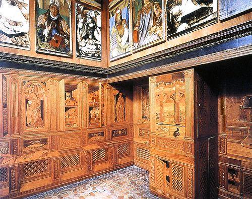 Luciano Laurana. Ducal Palace, Urbino, Library
