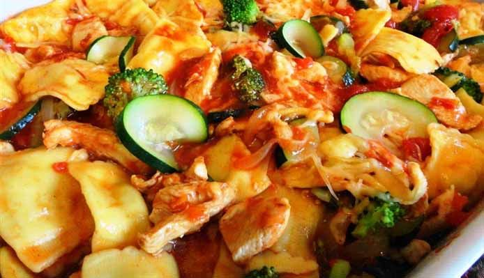 Surinaams eten – Ravioli Trafasie (Surinaamse tomaat chili ravioli met kip en groente)