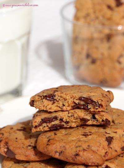 Biscuits à la Farine de Châtaigne et Pépites de Chocolat