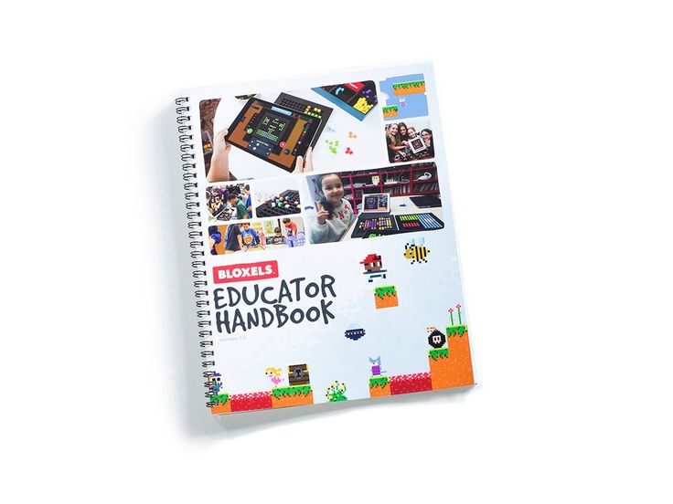 The Bloxels Educator Handbook is a 48 page must-have tool for every instructor teaching with Bloxels! With this manual, any teacher can quickly and easily learn