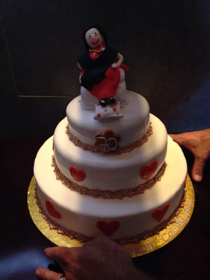70 year old birthday cake