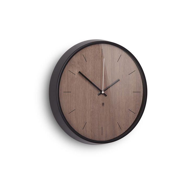 MADERA WALL CLOCK WALNUT