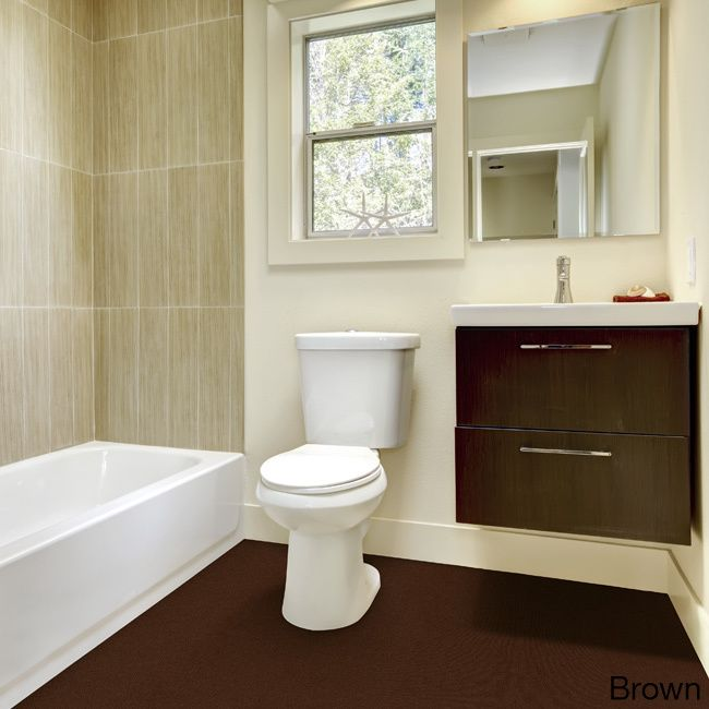 Madison Olefin Wall To Plush Bathroom Carpet