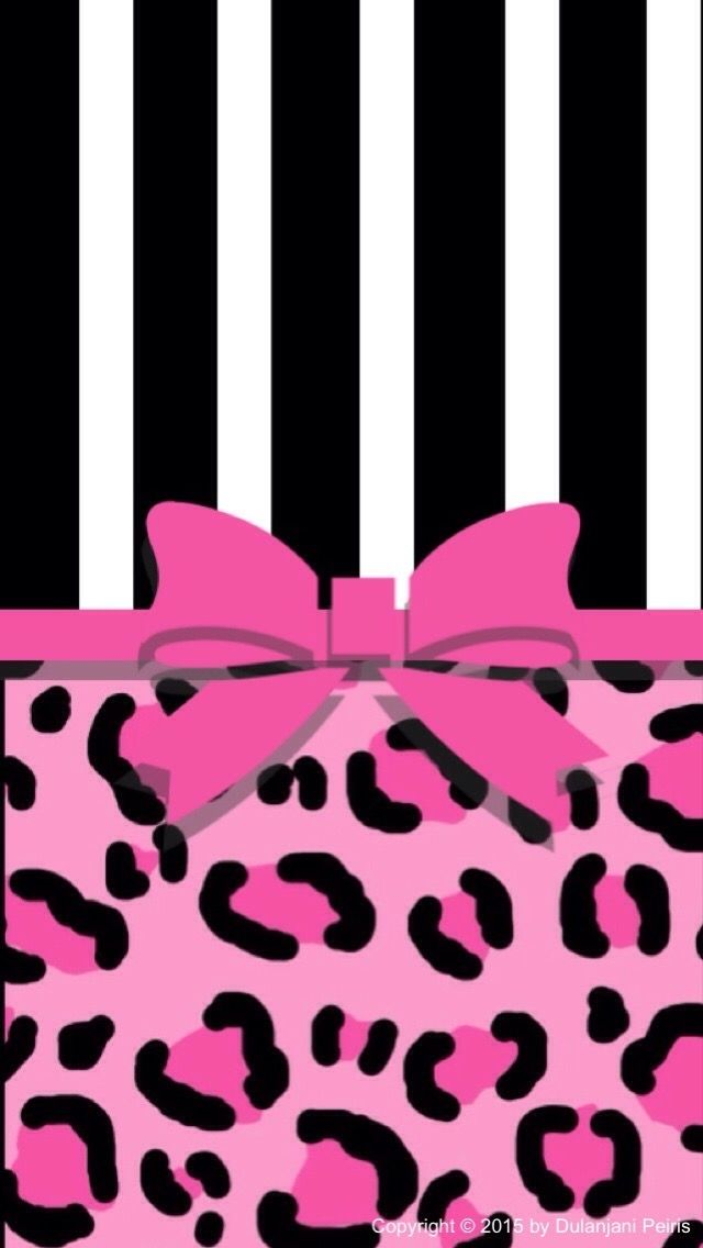 Black and hot pink bow | Cute Phone Wallpaper | Pinterest | More ...