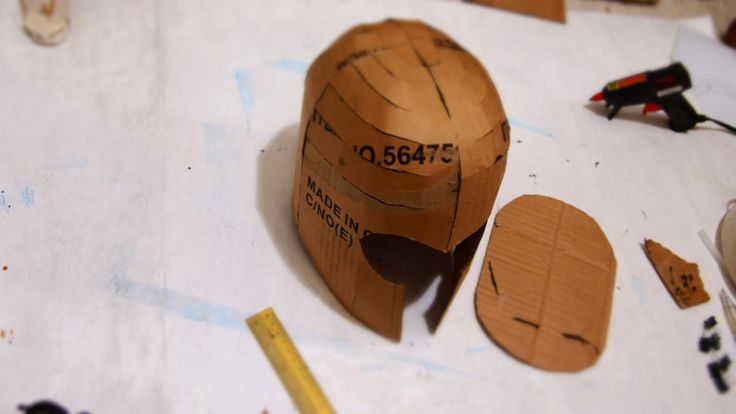 how to make day of future past Magneto costume helmet, #cosplay items: masking tape http://amzn.to/1LaxaSt pva white glue http://...