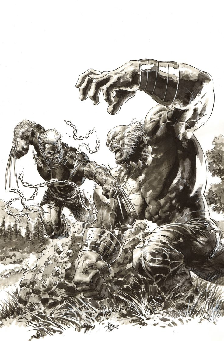 Secret Wars #1 Wizard World Variant Cover by Mike Deodato Jr. (after Herb Trimpe's cover for The Incredible Hulk #181)