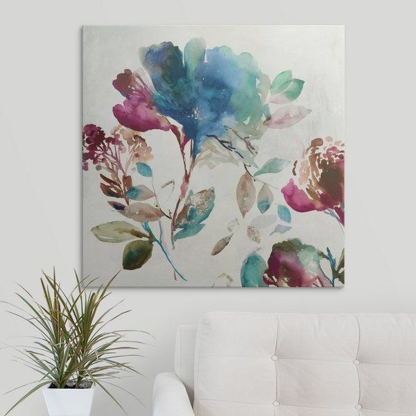 Youll love the blossoming i by asia jensen painting print on canvas at wayfair great deals on all décor pillows products with free shipping on most