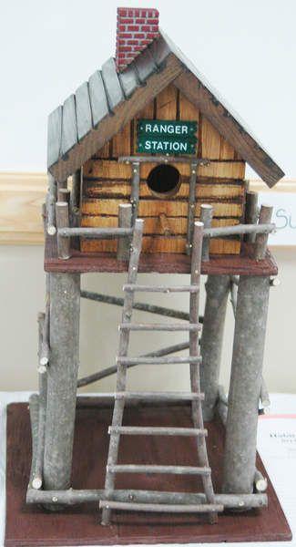 Ranger Station Birdhouse.....