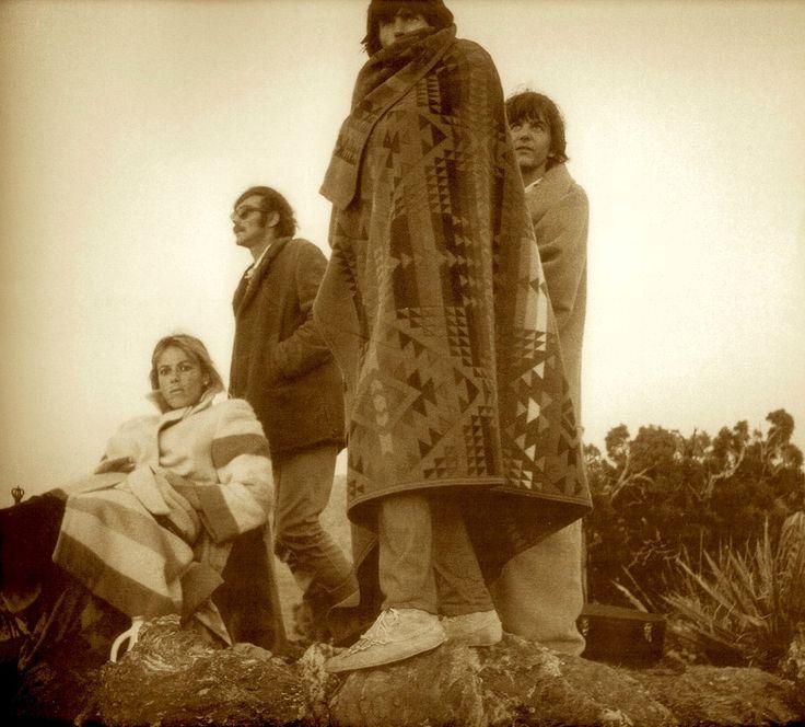 Anita Pallenberg, Keith Richards and Gram Parsons at Joshua Tree© MICHAEL COOPER 1969