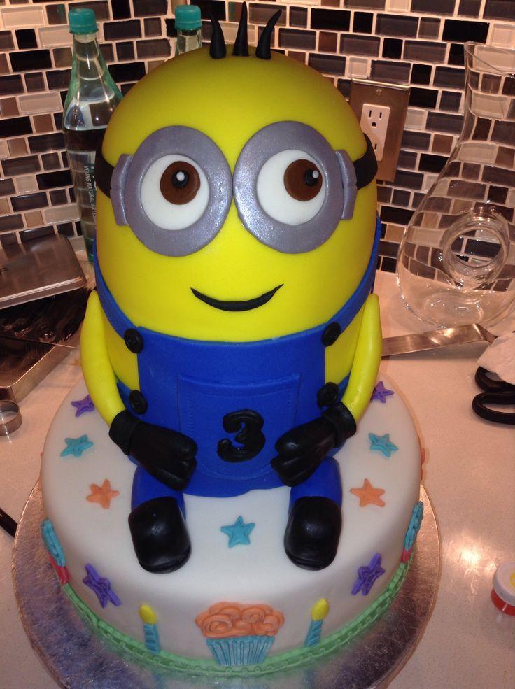 Minion Cake Design Pinterest : Minion cake Minions birthday ideas Pinterest