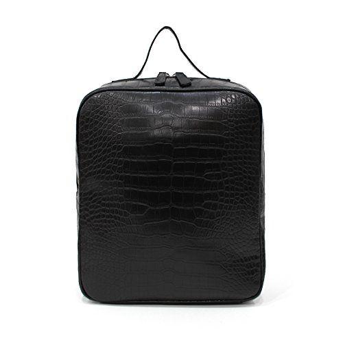 おすすめ [ナルシャ]Narusya Polar[3COLOR] itbag クロコ 型押し スクェア リュック 2way トートバッグ レディース 大きめ a4 ファスナー付き fba 鞄