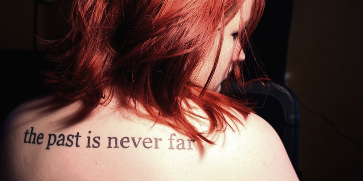 the past is never farBody Art, Skin We R, Ink Obsession