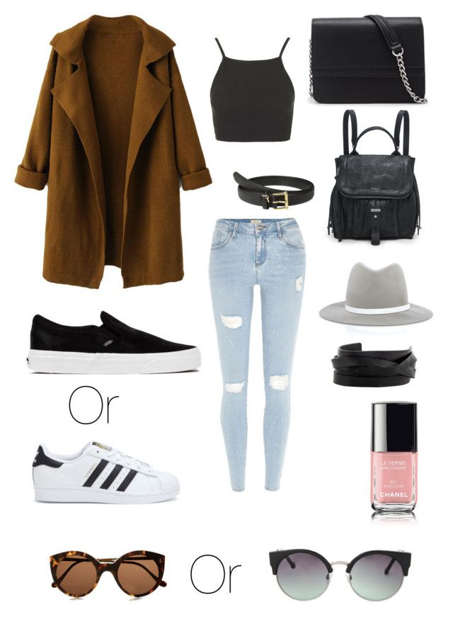 Outfit #5 by dianatairum on Polyvore featuring Topshop, River Island, Vans, adidas, Forever 21, Gucci, rag & bone, MANGO, Illesteva and Lauren Ralph Lauren