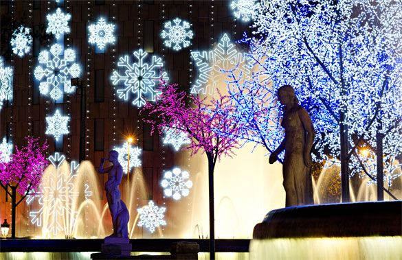 Barcelona's Christmas lights are out of this world. (Photo: © matthi - Fotolia.com)
