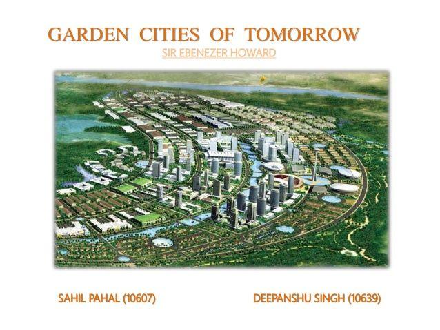 ebenezer howard garden city - Google Search