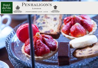 Penhaligon's Afternoon Tea @Hotel du Vin Edinburgh or Glasgow. The perfect opportunity for a little exclusive indulgence!