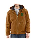 Men's Michigan State Sandstone Active Jac/Quilted Flannel Lined Get marvelous discounts at Carhartt with coupon and Promo Codes.