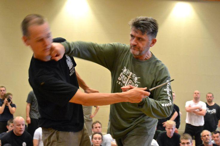 Russian SPETSNAZ Martial Art - Vladimir Vasiliev (Wave strikes, Defense ...
