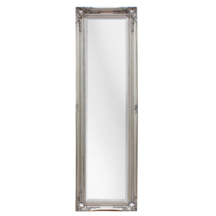 Selections by Chaumont SBC Maissance Traditional Full Length Mirror with Antique Wood Frame