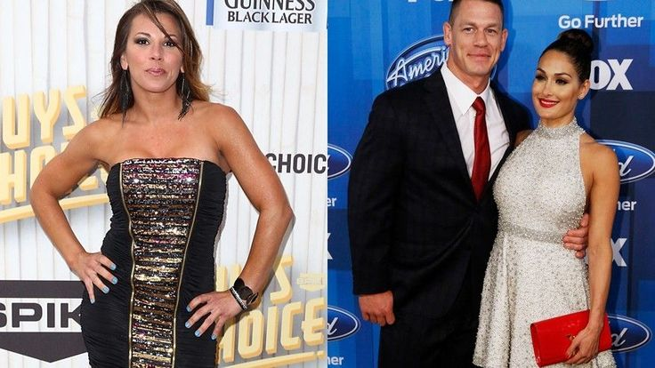 cool WWE's Mickie James opens up on dating fellow wrestler John Cena