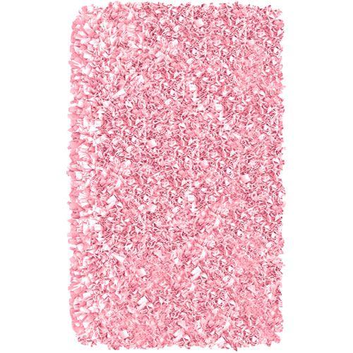 Shaggy Raggy Pink Rug from PoshTots