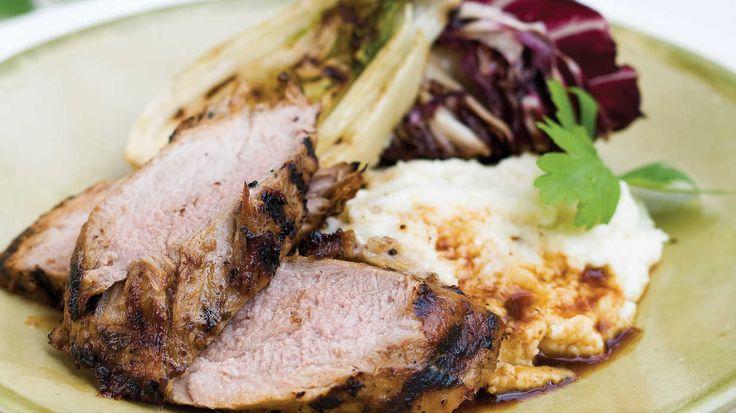 Honey Mustard Marinade - Juicy Pork Tenderloin Marinades - Southern Living - Recipe: