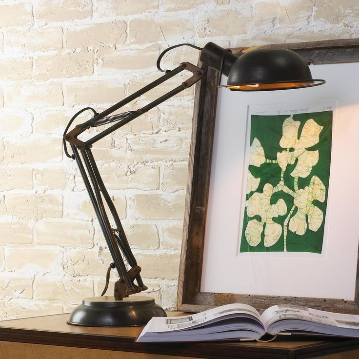 Table Lamps For Teen Boys : Industrial table lamp teen boys room pinterest
