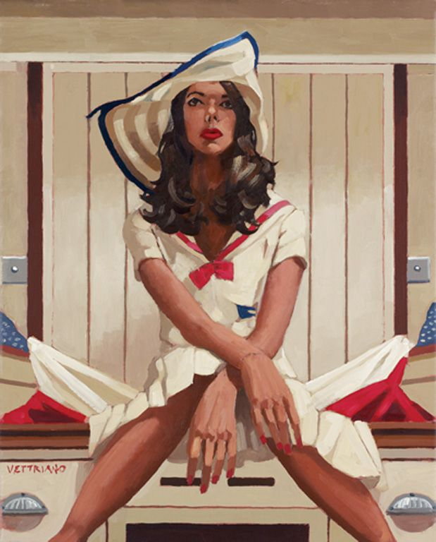 Jack Vettriano > Below Deck II