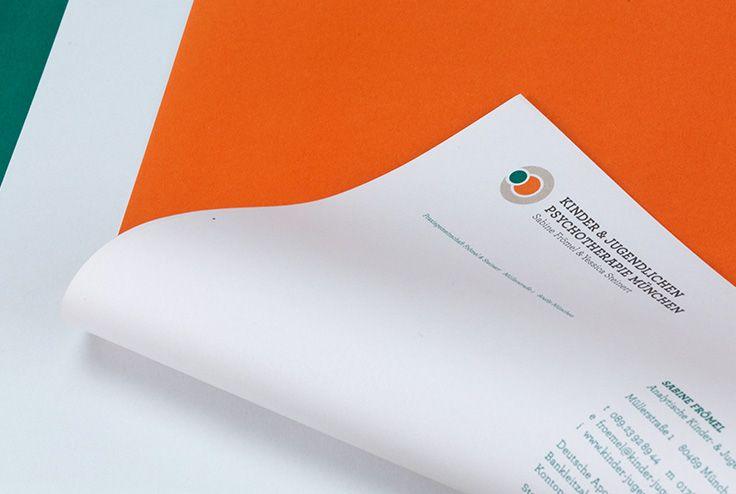 Kinderpsychotherapie Frömel & Steinert | #corporate #design #briefbogen © Im…
