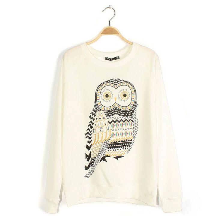 Grey Owl Sweater Shirt