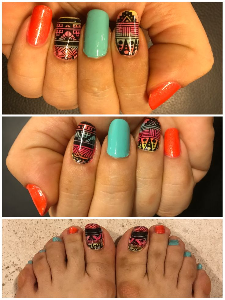 104 best my nail art designs images on pinterest nail art my tribal nails prinsesfo Choice Image