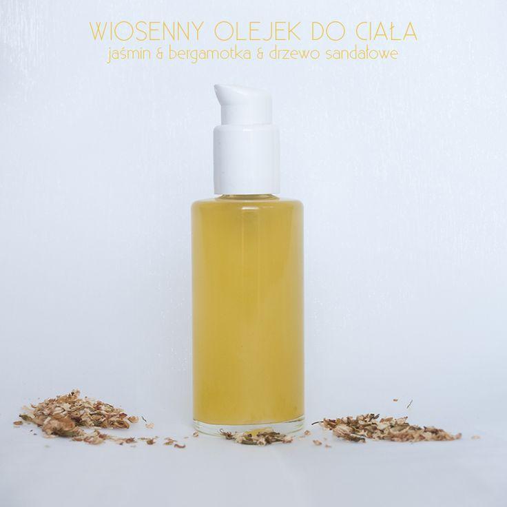 Zielona wśród ludzi: Wiosenny olejek do ciała