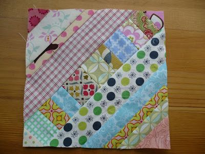 Tutorial: Pieced Centre String Quilt Block