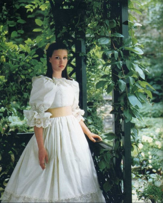 Lady Sarah Chatto (In her bridesmaid dress from Charles & Diana's wedding)