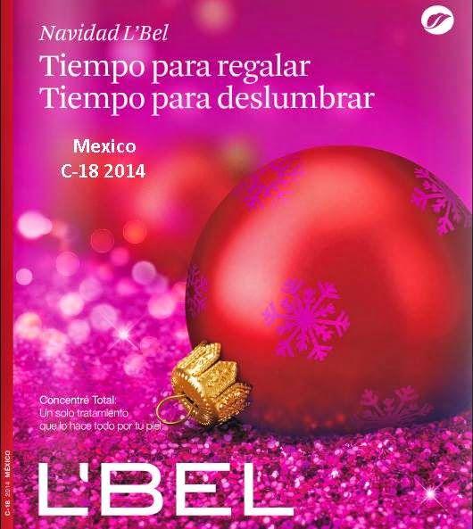 Catalogo #LBel Campaña 18 de 2014 Mexico