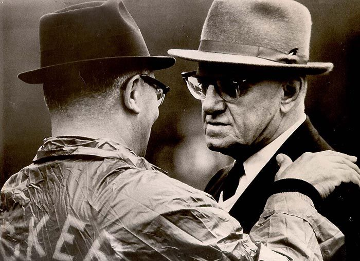 Some of the greatest NFL coaches of all time were sons on immigrants - Don Shula, Vince Lombardi, and George. H. Halas.
