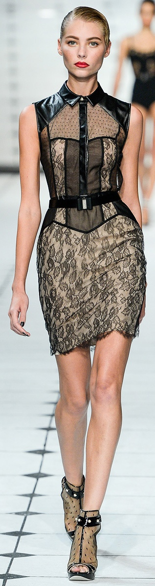 ✜ Jason Wu | Spring 2013 RTW ✜ http://www.vogue.com/collections/spring-2013-rtw/jason-wu/review/ #trend #lace