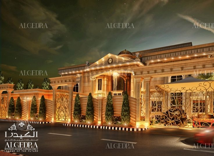 Algedra Offers Elegant And Modern Palace Exterior Designs. Get In Touch  With Us To Discuss About Modern And Traditional Designs For Your Palace.