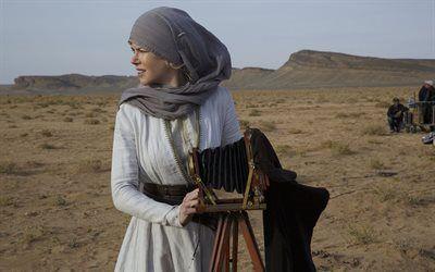 壁紙をダウンロードする ニコール-kidman, ドラマ, 2015, ア女優, クイーンの砂漠, gertrudeベル