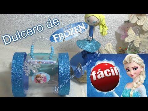 Dulcero con botella de plastico recicladas manualidades DIY reciclaje Manolidades - YouTube