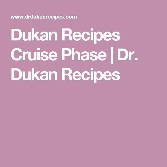 Dukan Recipes Cruise Phase | Dr. Dukan Recipes