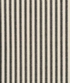 Shop Waverly Timeless Ticking - Black / Cream Fabric at onlinefabricstore.net for $13/ Yard. Best Price & Service.