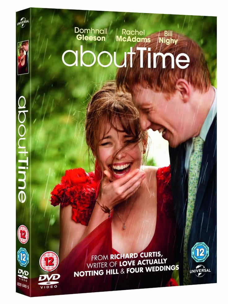 About Time [DVD + UV Copy] [2013]: Amazon.co.uk: Rachel McAdams, Bill Nighy, Tom Hollander, Richard Curtis: Film & TV