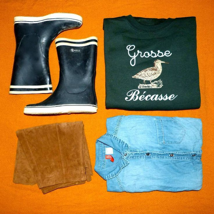 Sweat Grosse Bécasse - La Grosse Bécasse.  50% coton, Unisexe, Couleur : Vert forêt. Femme, campagne, green, bottes, aigle, ootd. Vêtements, vêtement, pull.