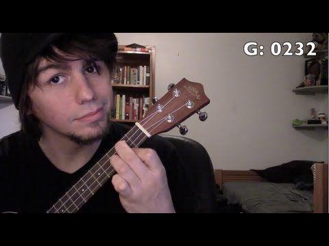 ▶ Ukulele: Easy beginner songs 3 - 4 chords, 9 songs - G, C, Em, D