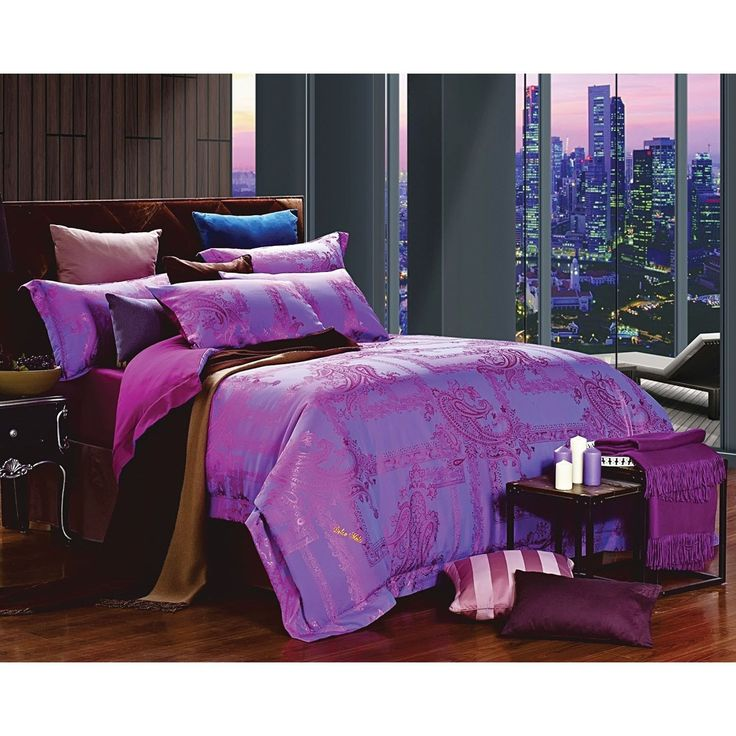 dolce mela jacquard luxury bedding 6 piece duvet cover set