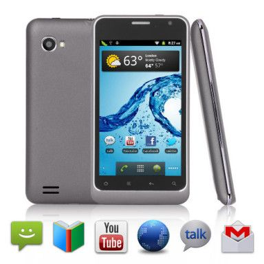 #Perseus 3G #Android_2.3_Phone has 4 Inch Multimedia Touch Screen (Dual SIM WiFi GPS)