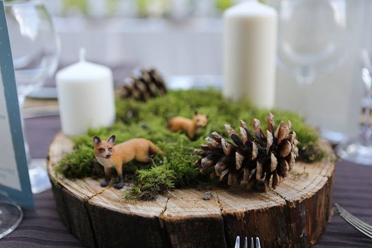 woodland wedding forest wedding foxes table