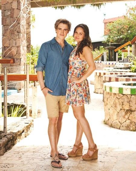McFly's Tom Fletcher and wife Giovanna